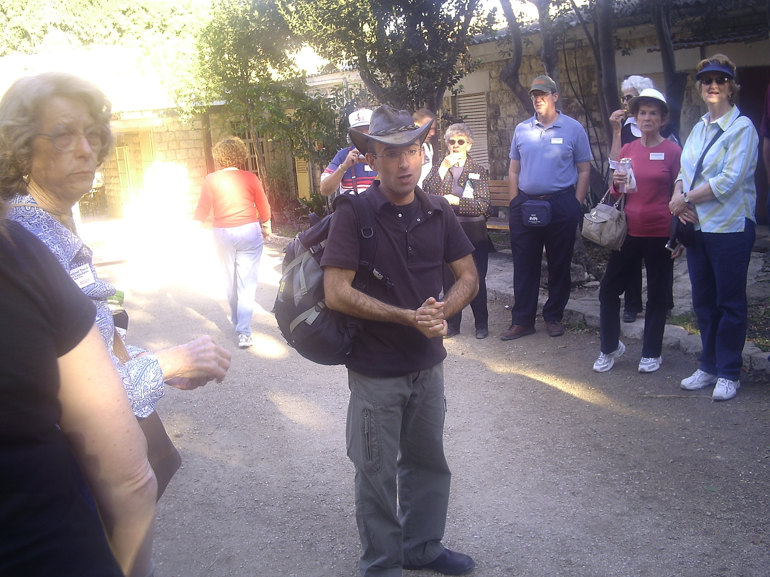 Our Fascinating, British-Israeli Guide, Adrian!