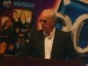 """""""Johnny Mac"""" at the lectern"""