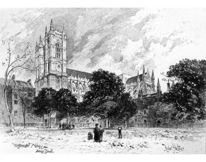 Westminster Abbey, thanks to reformationart.com