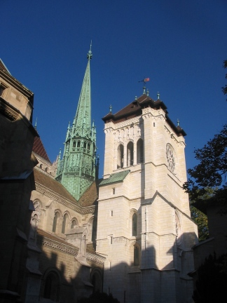St. Pierre Cathedral Geneva