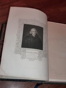 Lithograph of the Reverend John Brown of Haddington