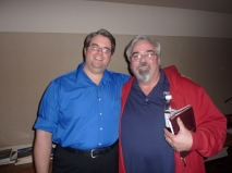 with Tom Browning
