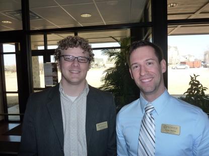 Jonathan Brack and Jared Oliphint