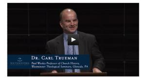 Dr. Carl Trueman speaks in the SWBTS chapel Thursday, October 9, 2014.