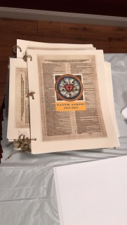 A collection of color sheets and other informative handouts given to the attendees of the 2017 Reformation Party at Mid-Cities OPC.
